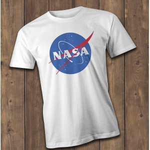 Nasa T-Shirt, retro Nasa