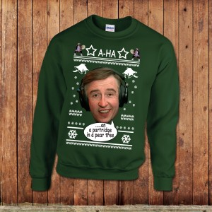 Alan Partridge Christmas Jumper