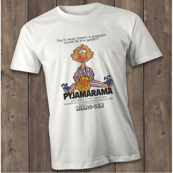 Pyjamarama T-Shirt, Vintage gaming