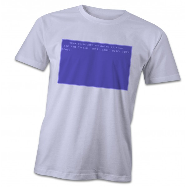 Commodore 64  screenshot T-Shirt