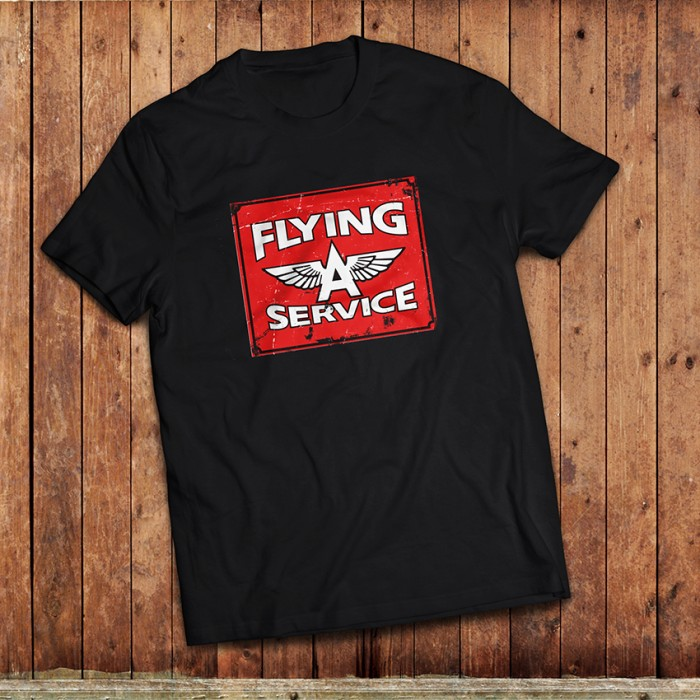 Flying A Gas T-Shirt Square