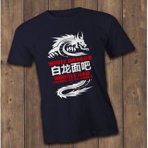 white Dragon Blade runner T-Shirt