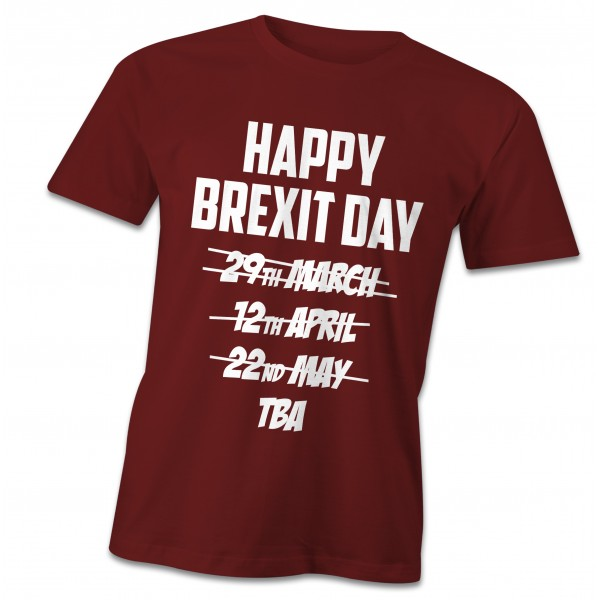 Happy Brexit Day t-shirt