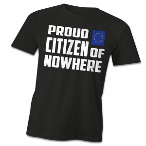 Citizen of nowhere t-shirt