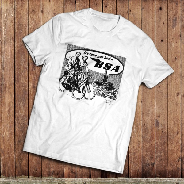 Retro BSA Ad T-Shirt