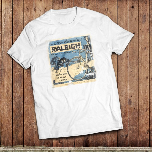 Vintage Raleigh Cycling T-Shirt,